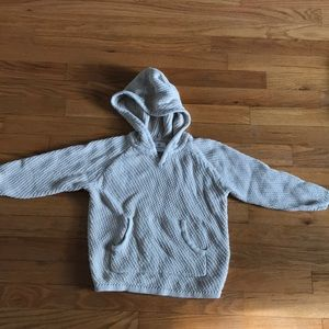 Hanna Andersson cotton knit hoodie